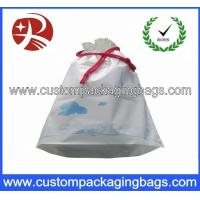 Wholesale Logo Printing Exquisite Drawstring Plastic Bags Leak Proof Shoe Packing from china suppliers