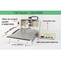 Wholesale Ball Screw 3 Axis Desktop Mini CNC Router 3040 Engraver Drilling And Milling Machine from china suppliers