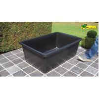 Wholesale large Plastic rectangular water basin - poly pond 600Liter from china suppliers
