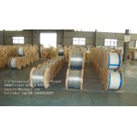 Wholesale ASTM A 475 Class A B EHS Guy Wire , 3 8 / 5 16 Inch Galvanized Steel Cable from china suppliers