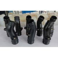 Wholesale Small Batch Production Black Rubber Car Pipes Injection Molding Service from china suppliers