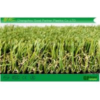 Buy cheap 35mm Thin U Shape Fake Turf Grass 3 / 8 Inch with Stem Blade from wholesalers