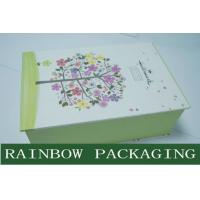 Wholesale Luxury Accessories Packaging and Printing Box , Book Shape Gray Board Paper Box from china suppliers