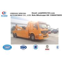 Buy cheap Factory sale SINO TRUK HOWO 6x4 16ton towing capacity wrecker tow truck, wholesale best price HOWO breakdown truck from wholesalers