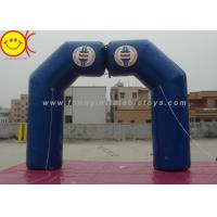 Wholesale Blue Inflatable Arch Incorporate Various Styles / Sizes For Sporting Activities from china suppliers