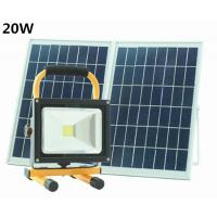 Buy cheap 20W solar camping light led solar portable light outdoor LED rechargeable flood lantern Outdoor Light from wholesalers