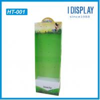 Wholesale Cardboard hanging display board  point of purchase display for supermarket racks from china suppliers