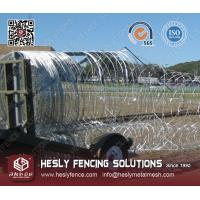 China Mobile Security Barrier Razor Wire on sale