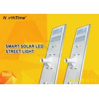 Wholesale High Lumens 6500-7000K All In One Solar Street Light With Li Battery 5 Year Warranty from china suppliers