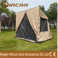 Wholesale canvas 4 square 1- 2person tent and Awning For outdoor camping sleep from china suppliers