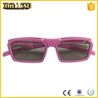 Quality cheap circular polarized film reald 3d glasses  suitable for cinema for sale