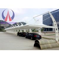 Wholesale Firm Light Car Parking Tent Canopy , Cantilever Shade Structures For Car Parking from china suppliers