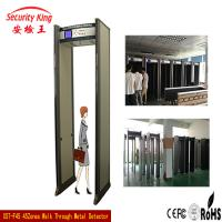 Wholesale Police 45 Zone Pass Through Multi Zone Door Frame Metal Detector , Metal Walk Through Gate from china suppliers
