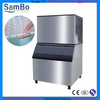 Wholesale Cube Ice Machine CE Certificate SC-1T industrial commercial ice maker ice plant generator from china suppliers