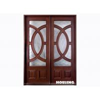 Buy cheap Fully Finished Solid Timber Door With MDF / Fir Wood Frame from wholesalers