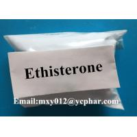 Wholesale Ethisterone Raw Estrogen Steroids Powder 99% High Purity CAS No 434-03-7 from china suppliers
