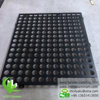 Buy cheap Perforated aluminum facade for wall cladding powder coated  exterior from wholesalers