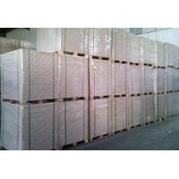 Wholesale One side white lined laminated grey board for gift packing from china suppliers