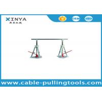 Wholesale Stringing Tools 30-50KN Lever Type Cable Drum Simple Reel Pay-off Stand from china suppliers