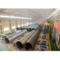 Quality High yield API 5L PSL1/PSL2 X80 SSAW 3PE/FBE coating Pipe ISO 3183 L555 Oil Gas Water transport Spiral Steel Pipe for sale