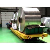 Electric rail transfer cart cylinder handling equipment  for Factory heavy goods