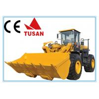 Wholesale big engineering machinery 5 ton wheel loader for sale with ce and iso from china suppliers