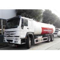 Wholesale HOWO 6x4 10 Wheel Bobtail LPG Truck 20M3  20000L For Filling LPG Gas Cylinders from china suppliers