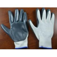 Wholesale 13G Nylon smooth finish Nitrile working Gloves/safety gloves/knitted gloves from china suppliers