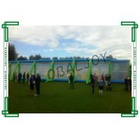 Wholesale PVC Tarpaulin Standard Inflatable Paintball Arena Double Stitch Durable Net from china suppliers