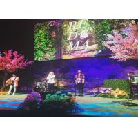 Wholesale Lightweight Backdrop Design P3 P4 P5 P6 Indoor LED Video Wall , Stage Concert Display from china suppliers