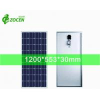 Quality 2BB 125*125mm Monocrystalline Solar Cells Made into 85W Solar Panel for LED Light for sale