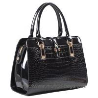 Wholesale Fashion Snake PU Leather handbag for lady (MH-6040) from china suppliers