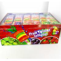 Wholesale Colorful Multi Fruit Flavor Twist Lollipop with Fluorescent sticks sweeet and healthy from china suppliers