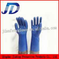 Quality Long sleeve mechanical nylon knitted gloves for sale