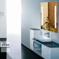 Buy cheap 5mm clear glass led lighted bathroom mirror from wholesalers