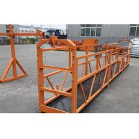 Wholesale Construction Maintenance Hanging Suspended Access Platforms 500KG 1.5KW ZLP500 from china suppliers