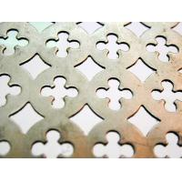 Wholesale Ornamental Decorative Perforated Metal Screen,Special Perforations Embossed Plates  from china suppliers