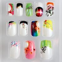 Wholesale Acrylic decorated fake nails Tips Full Cover for women , DIY Fake Nails from china suppliers