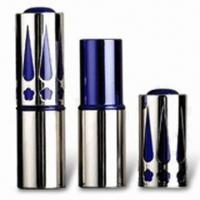 Wholesale Lipstick Tube with 70mm Height and Sand Polished, Customized Colors are Accepted from china suppliers