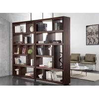 Wholesale Black Walnut Wooden Book Case 5 Shelf Living Room Tall Solid Wood Bookcases from china suppliers