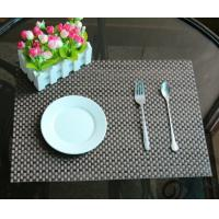Wholesale textilene mesh fabric placemat woven vinyl placemats from china suppliers