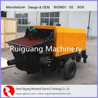Wholesale Concrete Trailer Pump - concrete mixing machine from china suppliers