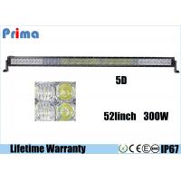 Wholesale 300W 5D 52 Inch Led Bar For Truck 6000K Cool White Spot / Flood / Combo Beam from china suppliers