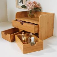 Wholesale China Bamboo Cosmetic Organizer Table Organizer from china suppliers