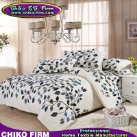 Wholesale Canada Style Leaves Design Pigment Printed Bedding Sets from china suppliers