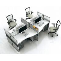New Product in China Cubicle Office Workstation Melamine Partitions Profile Workstation