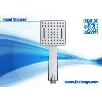 Wholesale Plastic Waterfall Handheld Shower Head with Chrome Plating from china suppliers