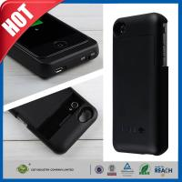Wholesale Black Cellular Phone External Backup Battery Charger Case 3200mah For iphone 4 4G 4S from china suppliers