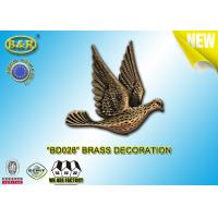 Quality REF. BD028 Brass pigeon tombstone decoration size 10*10.5cm material copper alloy for sale