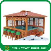 Wholesale Outdoor Hot Tub Wooden Gazebo(WG-06) from china suppliers